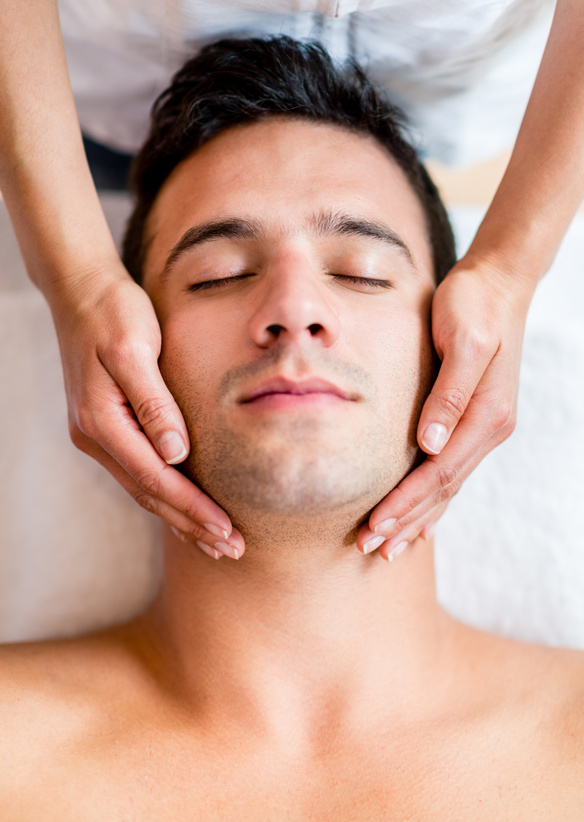 Massage cranio facial